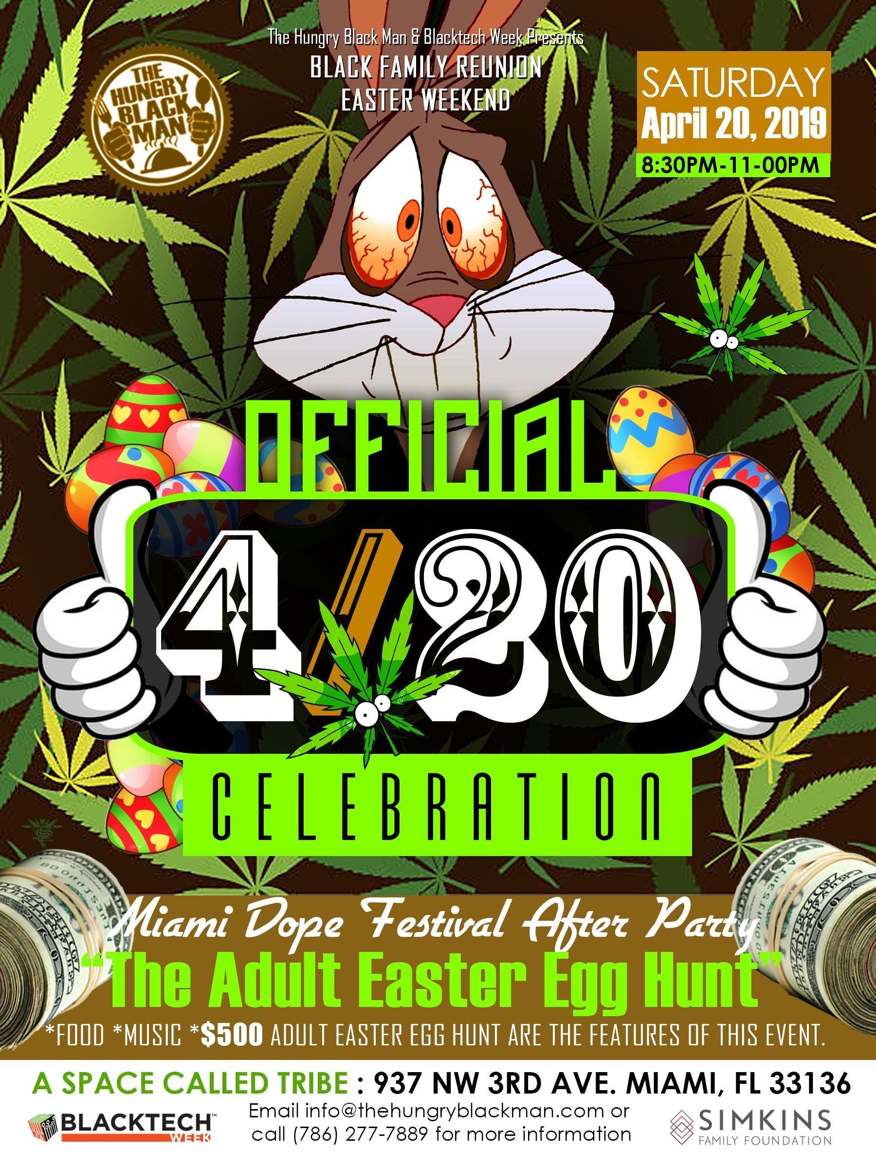 Adult Easter Egg Hunt Miami Fl