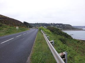 last couple km before Cherbourg