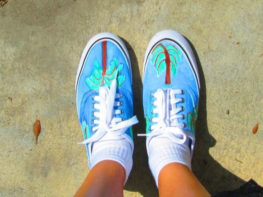 Palm Tree Shoes