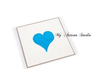 Heart Card Hand Made Gifts Ballarat