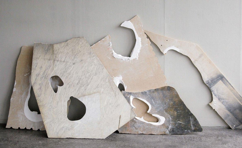 Fleeting Parts By Milena Naef artwork modern art marble