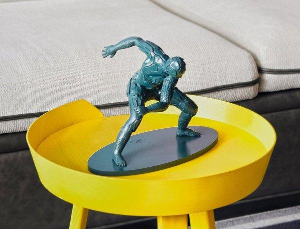 unique board 3D printed sculpture Esteban Diacono