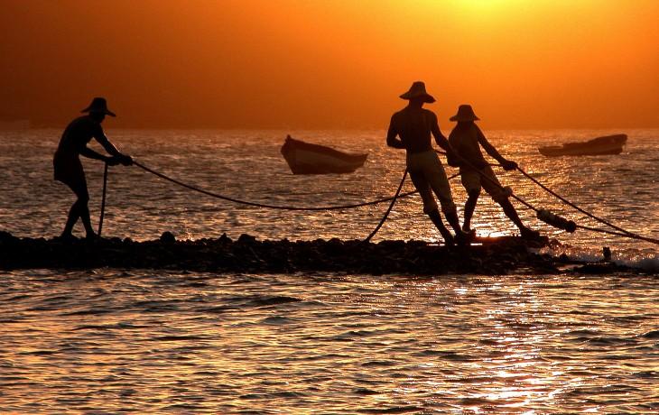 1. Sculpture Three Fishermen, Buzios, Rio de Janeiro