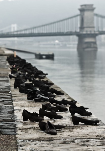 10. Shoes on the Danube in Budapest, Hungary