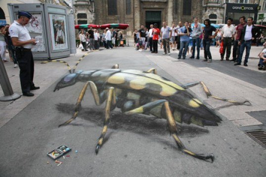 14. Awesome 3D Street Art