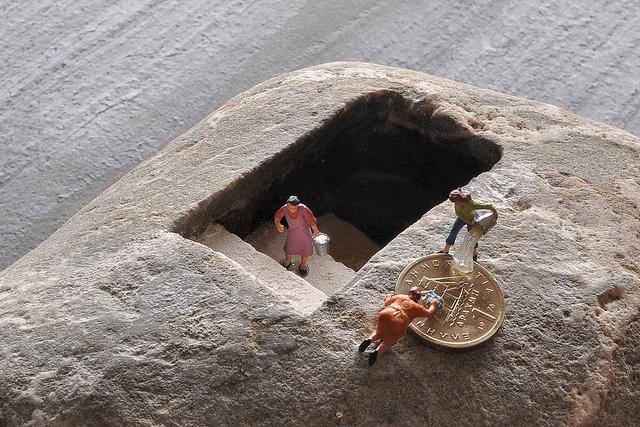 15. Hirotoshi Ito Stone Sculpture