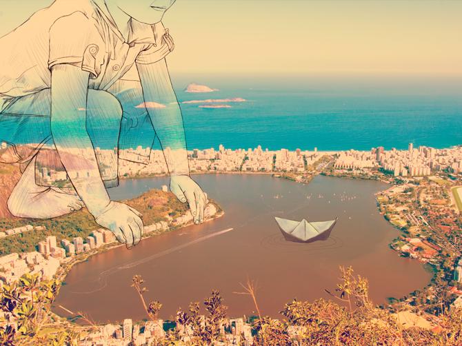 18. Surreal Illustration by Christopher Guzman