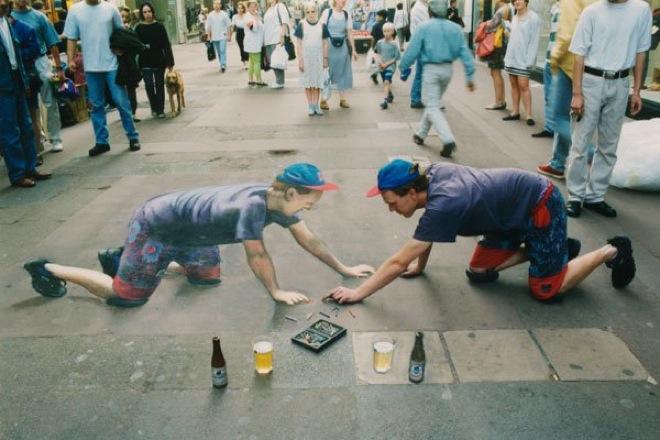 19. Incredible 3d anamorphic illusions Julian Beever