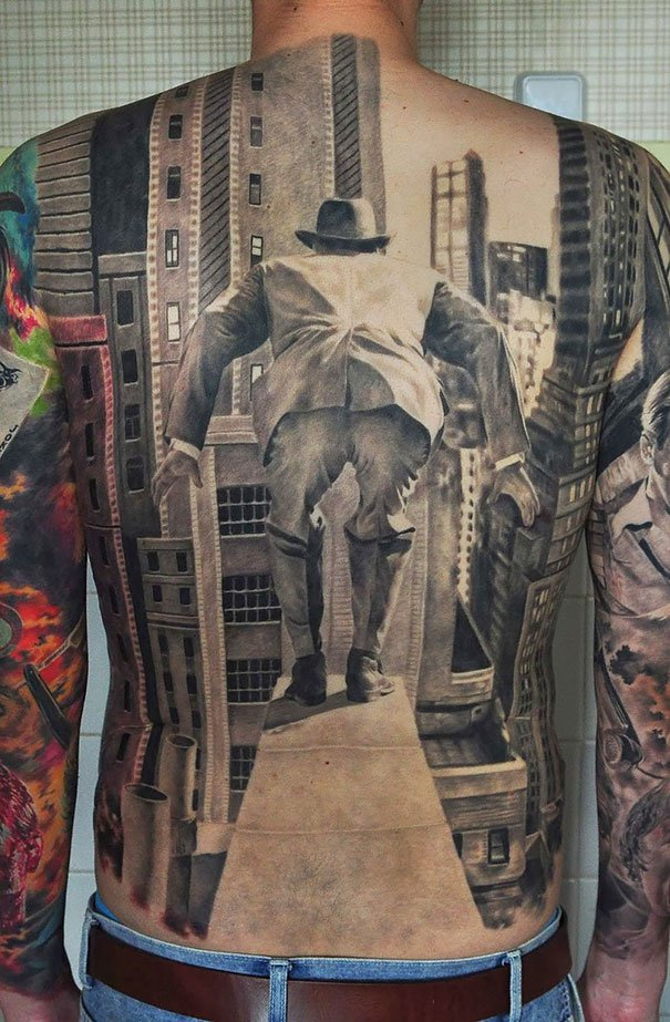 2. 3d tatoo art