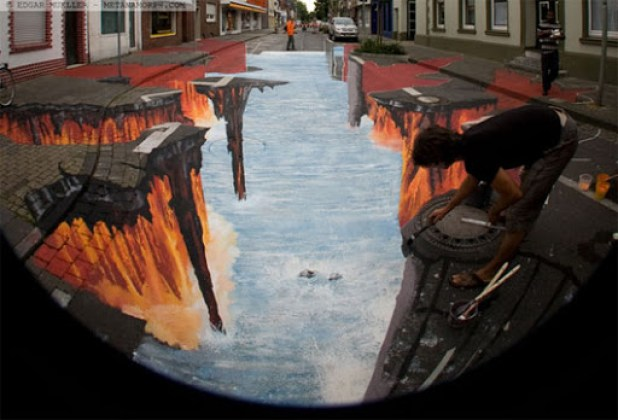 2. Awesome 3D Street Art