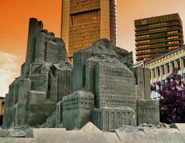 2. Beautiful Sand Sculpture