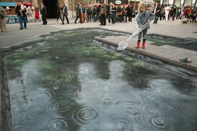 21. Incredible 3d anamorphic illusions Julian Beever