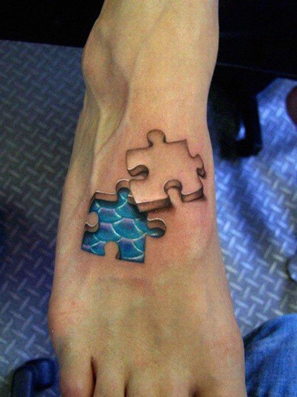 28. 3d tatto art