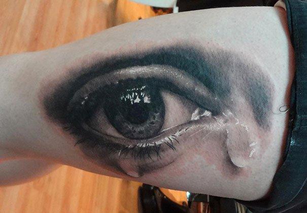 36. 3d tatto art