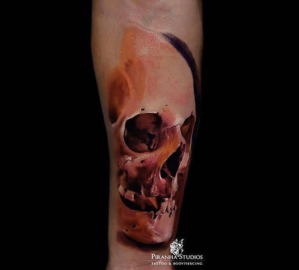 38. 3d tatto art