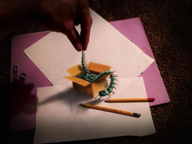 3d-art-Caterpillar