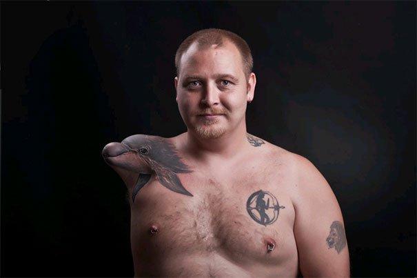 4. 3d tatoo art