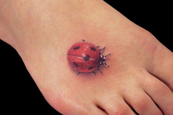 45. 3d tatto art