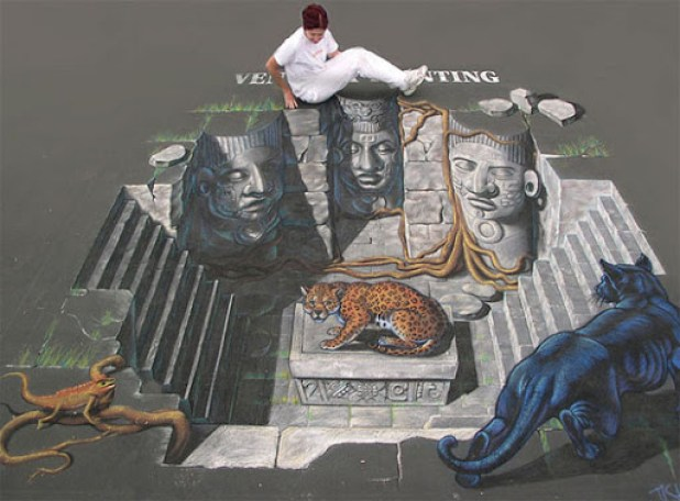 6. Awesome 3D Street Art