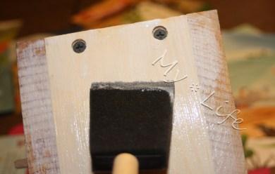 Base coat of glue