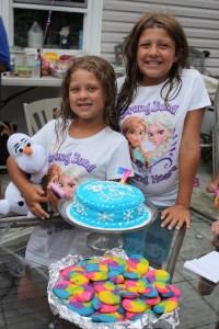Laila & Olivia, or Ana & Elsa