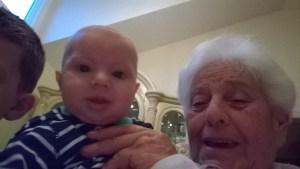 Selfies with Mama