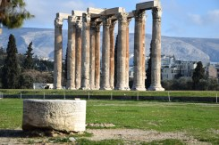 The Temple of Olympian Zeus and the Arch of Hadrian