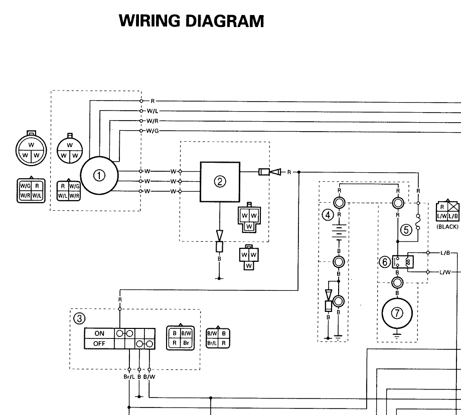 1999 Yamaha Breeze Wiring Diagramon Kawasaki Bayou 300 Carburetor Diagram