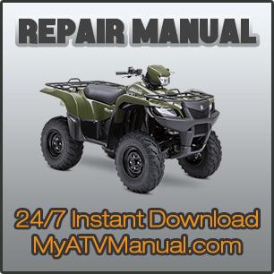 Yamaha Timberwolf 250 Repair Service Manual