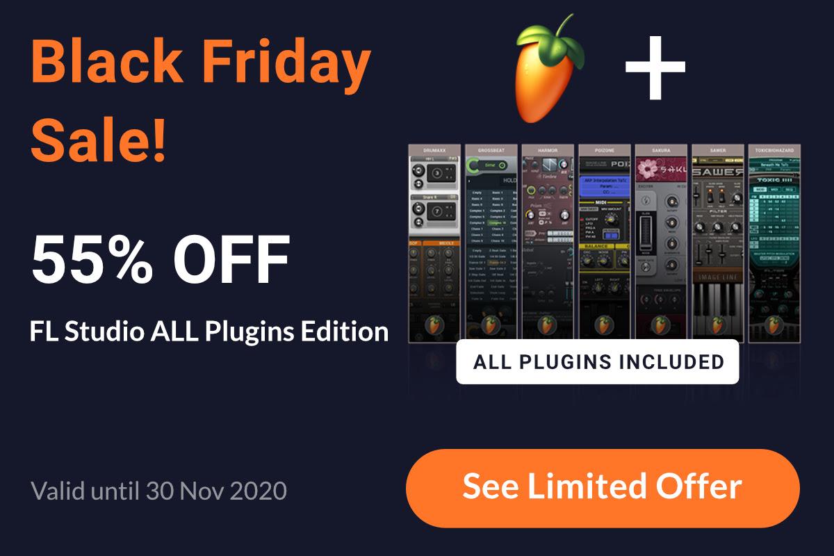 FL Studio All Plugins Edition (55% OFF)