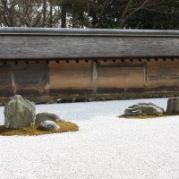 Ryoanji temple and Zen's rock garden, Kyoto