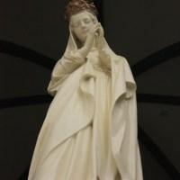 Takasaki Kannon, a huge white statue of goddess