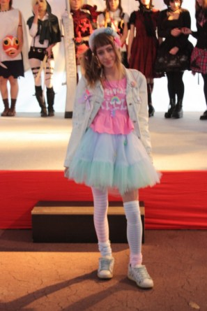 """Ivona in fairy kei style (clothes by MyauMania) for pop culture program """"Day of Japan""""."""
