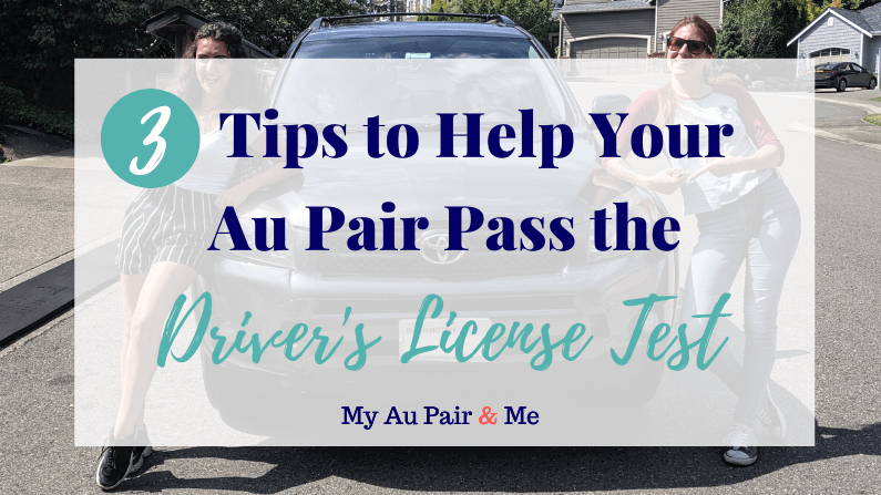 3 Tips to Help Your Au Pair Pass the Driver's License Test