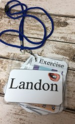 Breakaway Lanyard is perfect for field trips or vacations.