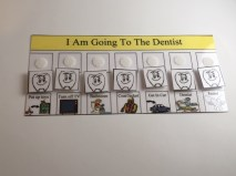 Going to the Dentist Task Board