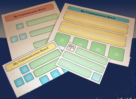 Custom Designed Communication Boards