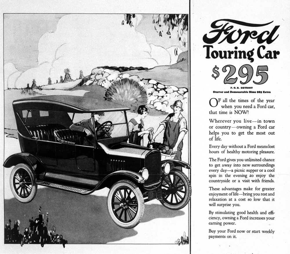 Image result for model t advertisement