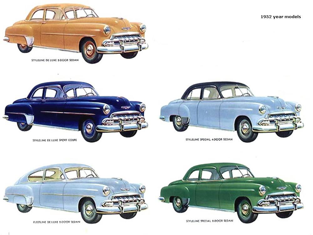 19501954 Chevrolet Bel Air