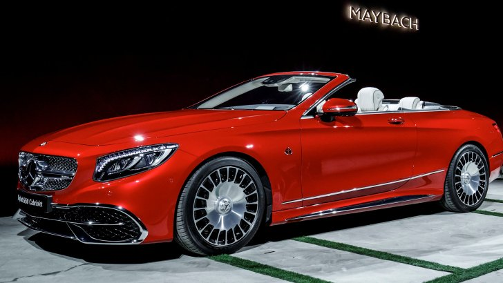 NEW MERCEDES-MAYBACH S650 CABRIOLET