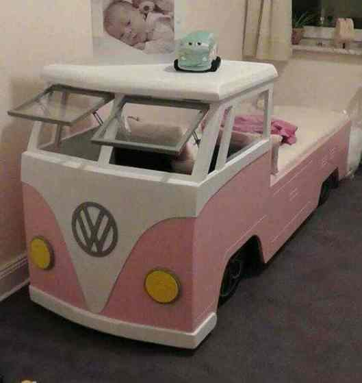 Camper Van Kids Bed Inspiration 16