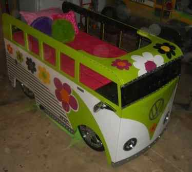 Camper Van Kids Bed Inspiration 20