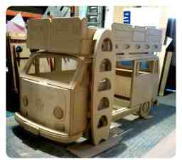 Camper Van Kids Bed Inspiration 30