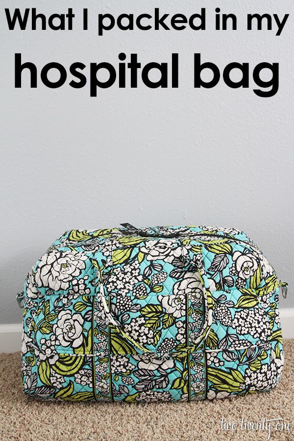 Ideas About Hospital Bag For Mom To Be 2