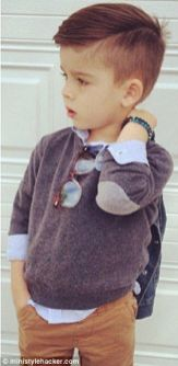 Little Boy Haircuts Inspiration 14