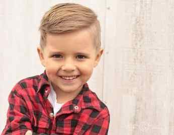 Little Boy Haircuts Inspiration 28