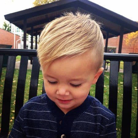 Little Boy Haircuts Inspiration 34