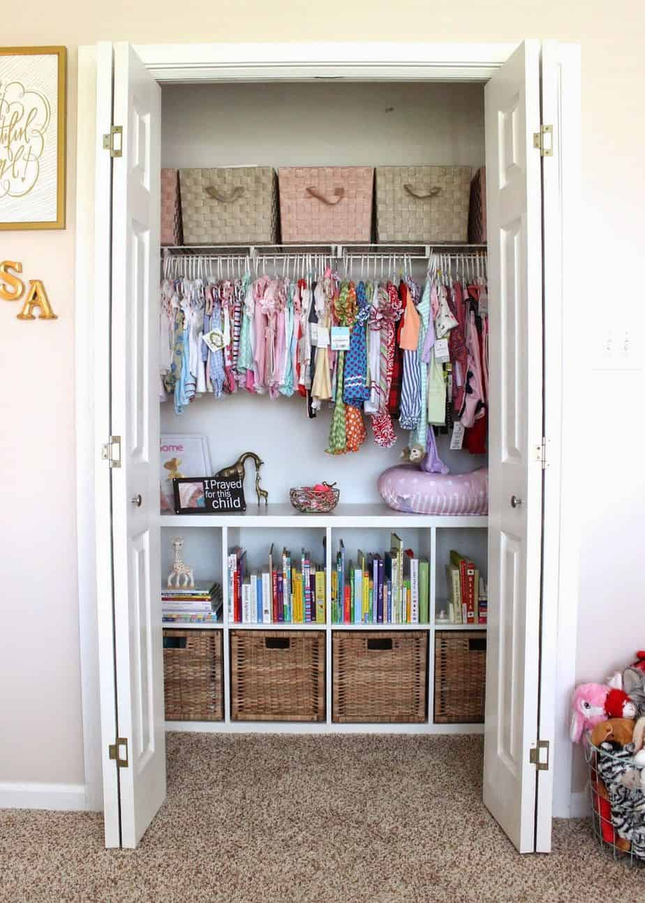 50 Organizing Ideas For Every Room In Your House: 50 Best Nursery Organizing Ideas You'll Love