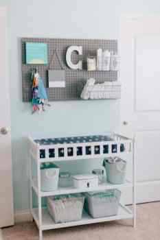 Nursery Organizing Ideas 27