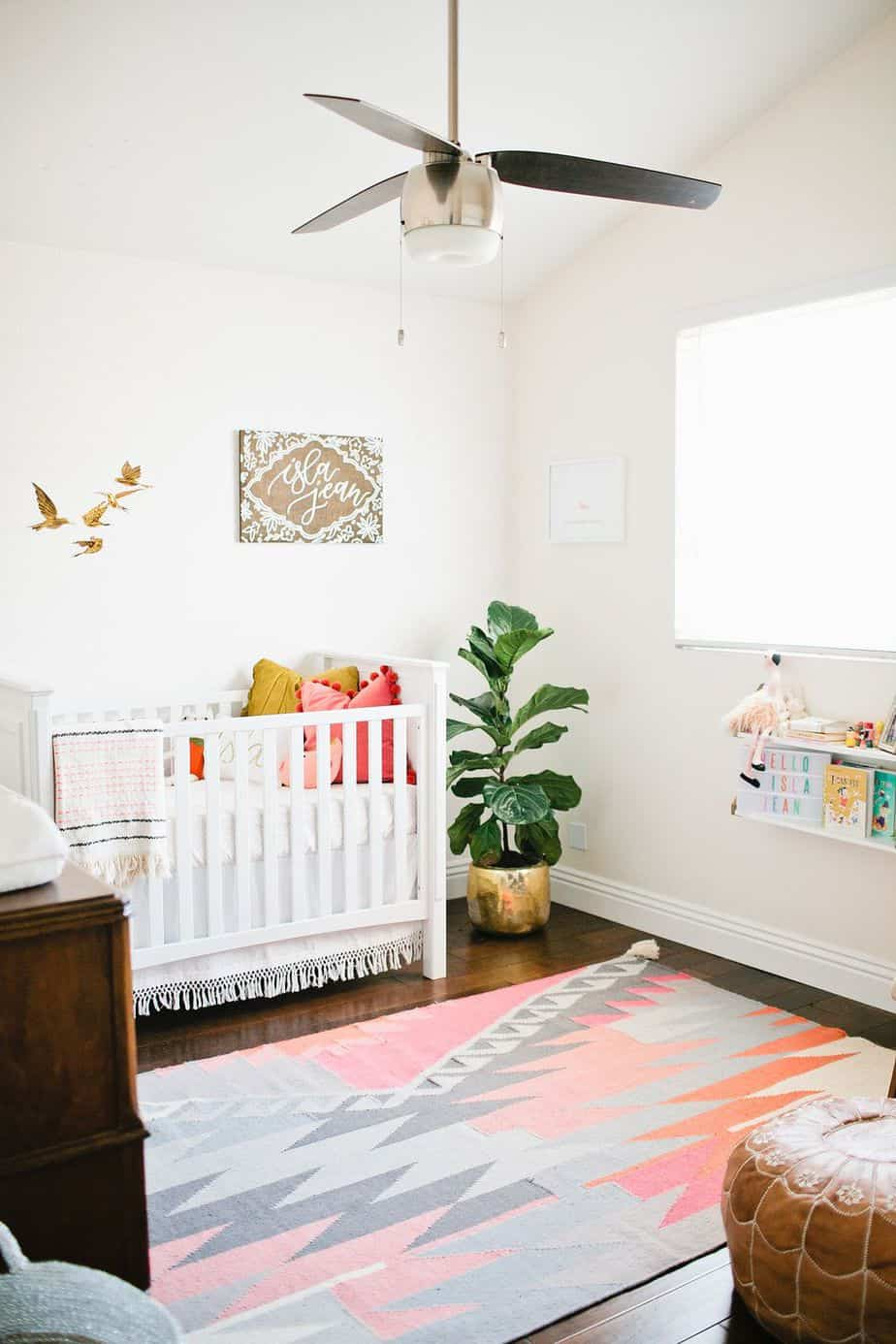 Room Ideas For Your Baby Girl 33